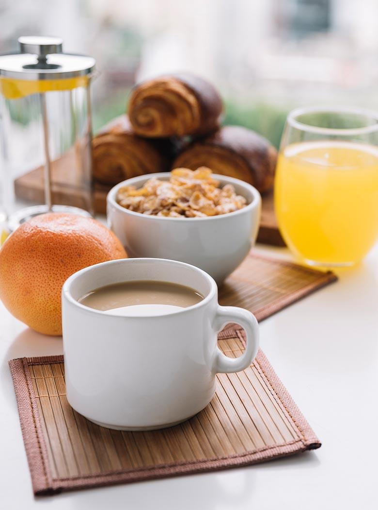 KunstCafe Stegersbach: Frühstück